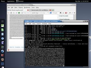 Aktualizácia SSL certifikátu metódou copy&paste