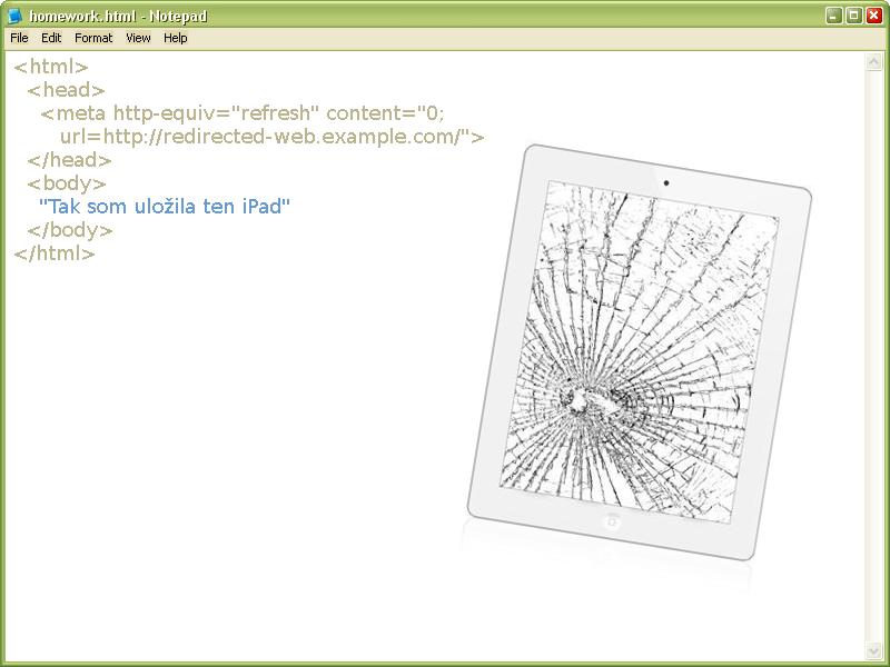 Editovanie HTML v iPade :)