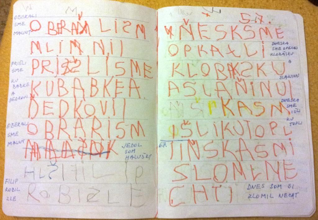 Tomáškov denník 1